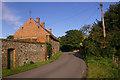 TG0239 : Church Farm, Saxlingham by Ian Capper