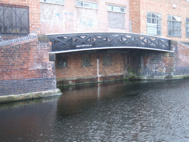 Wharf bridge on the Tame Valley Canal