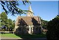 TQ5937 : The chapel, Tunbridge Wells Cemetery by N Chadwick