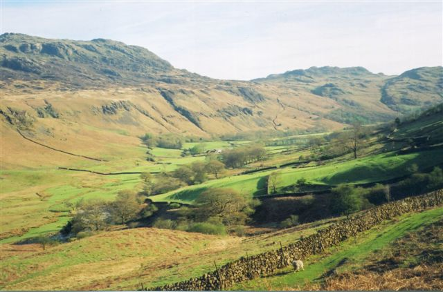 The Eskdale valley comes into view