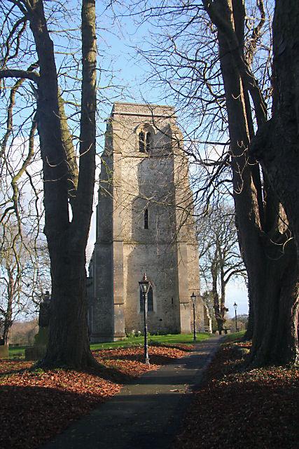 All Saints Church, Kirtling