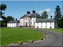 NS3978 : Strathleven House by Lairich Rig