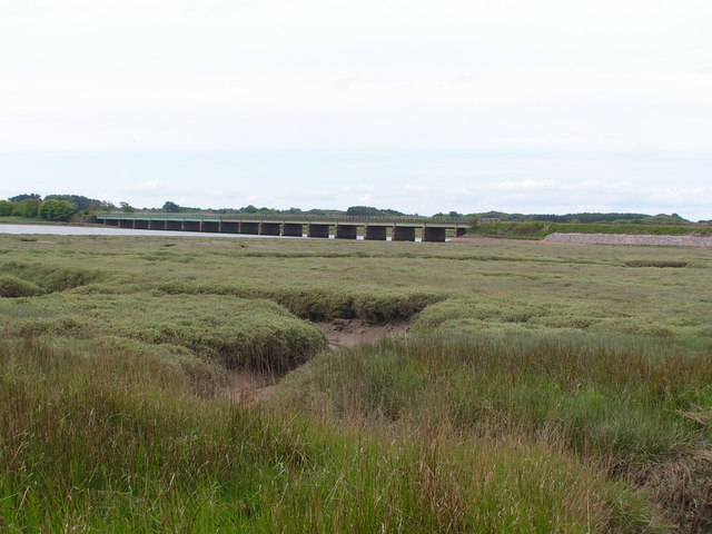 Salt Marsh by the R. Esk