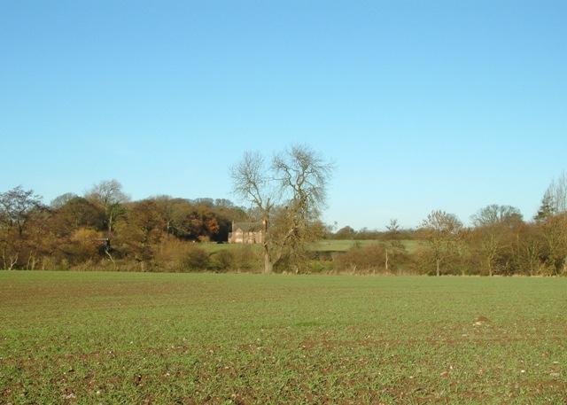 Farmland near Chebsey