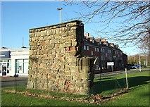SJ9223 : Old Town Wall, Stafford by Simon Huguet