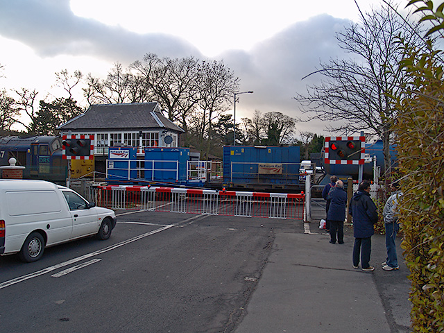Level crossing on Guisborough Road