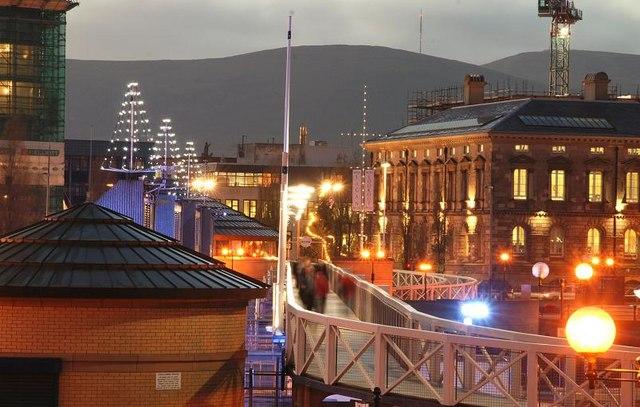 The Lagan footbridge, Belfast (3)