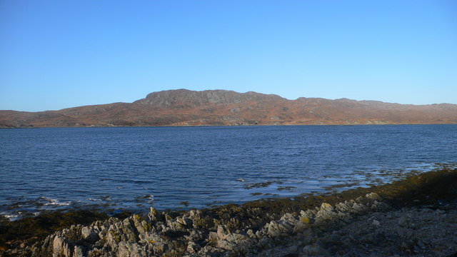 Looking north across Loch Tarbert with Cruib above the north shore