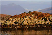 NG7832 : View to Port Luinge by Lee Roberts