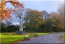 NJ9304 : Monument to Elizabeth Crombie Duthie by Bob Embleton