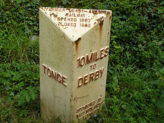 Old style sign at Tonge Derbys