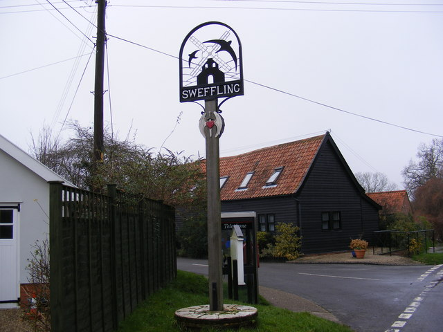 Sweffling Village Sign