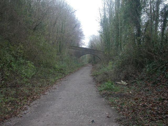 Railway footbridge, Spetisbury