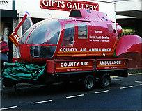 SJ6910 : Shropshire Air Ambulance by Gordon Cragg