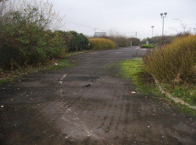 View of derelict Park & Ride (9)