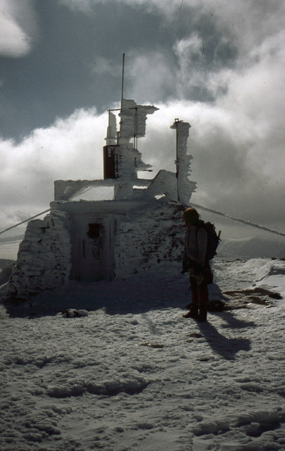 Weather Station, Cairn Gorm, 1985