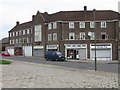 TQ4668 : Tillingbourne Green shops, Poverest by Ian Capper