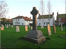 TG2834 : War memorial, St Botolph's Church, Trunch by Humphrey Bolton