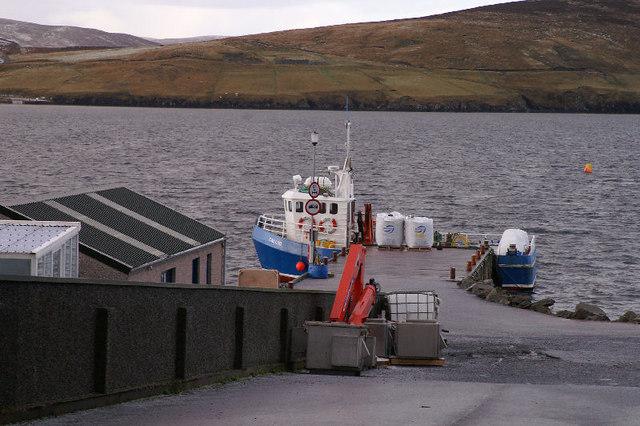Pier at Wadbister