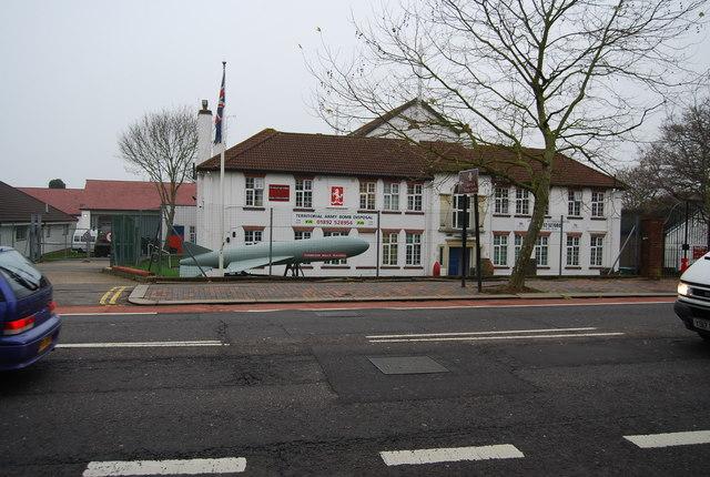 Territorial Army Centre, St John's Rd, Tunbridge Wells by N Chadwick