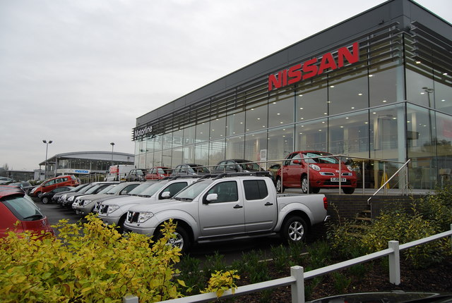 Nissan Car Dealership North Farm Estate C N Chadwick Geograph