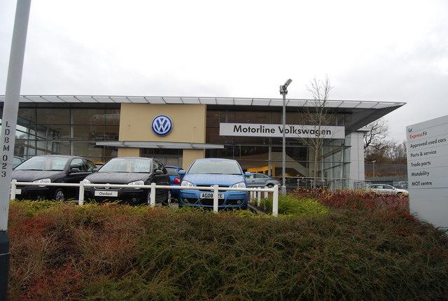 Motorline Volkswagen, North Farm Estate by N Chadwick