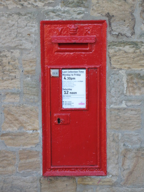 Victorian postbox, Wylam