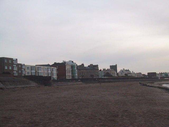 Sea Wall at Burnham on Sea
