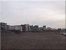 ST3049 : Sea Wall at Burnham on Sea by Sarah Charlesworth