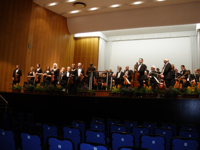 Concert, at the Great Hall, Exeter University