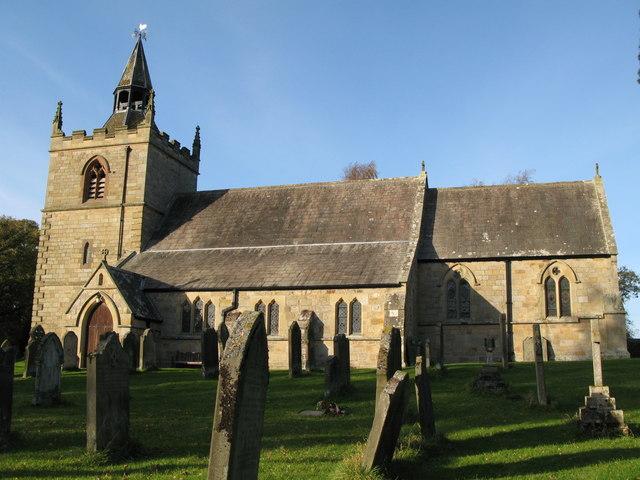 St. Giles Church, Chollerton