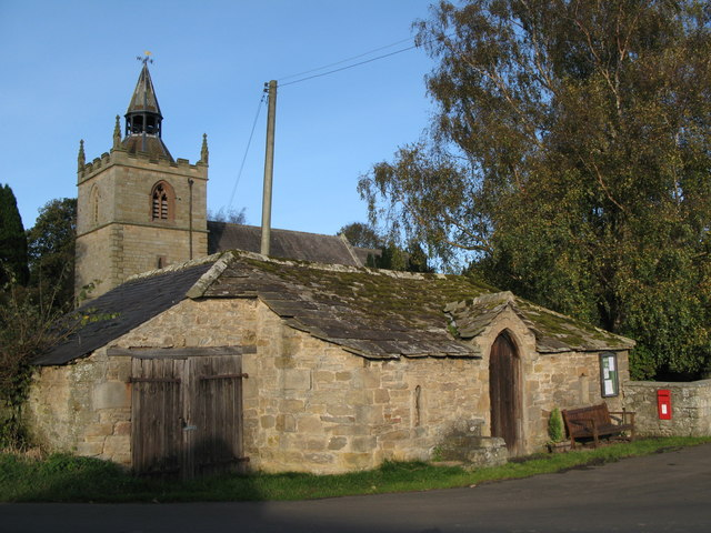Church stable and hearse house