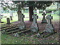 NY9166 : The churchyard of St. Michael's Church, Warden (2) by Mike Quinn