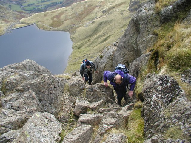 Topping out of Jack's Rake