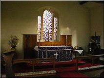 SD7656 : St Bartholomew Church, Tosside, Altar by Alexander P Kapp
