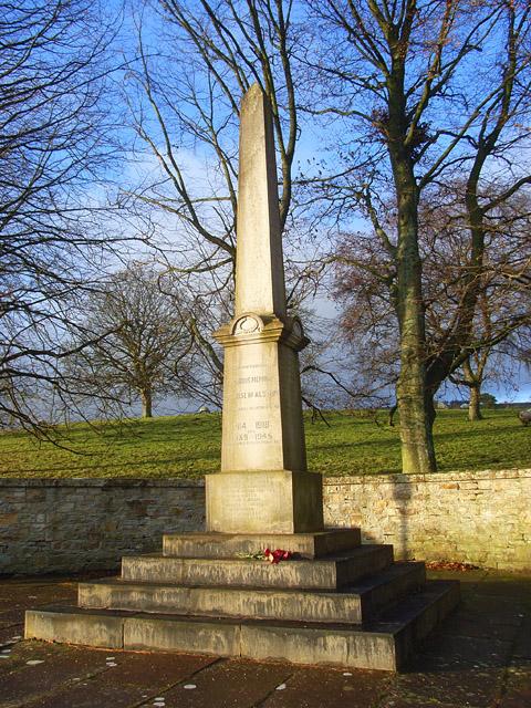 War memorial, Alston