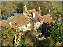 ST6867 : Cottages in Saltford near the River Avon by Rick Crowley