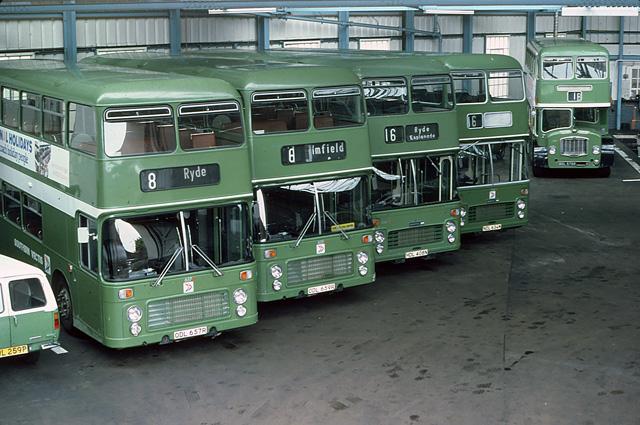 Ryde Bus Garage