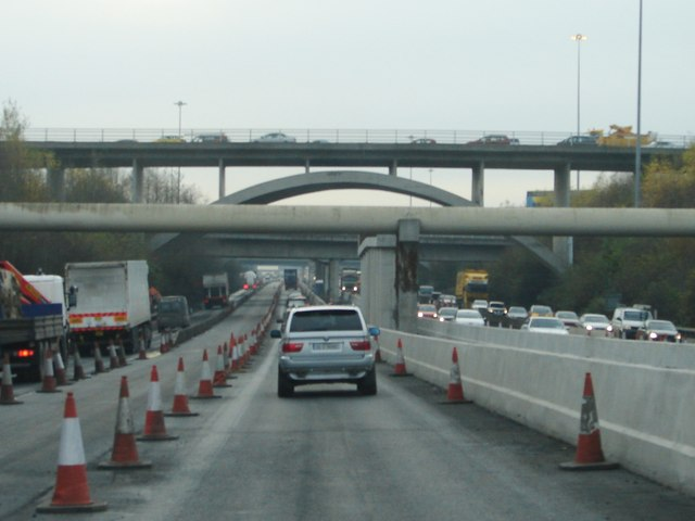 Junction 6 on the M50