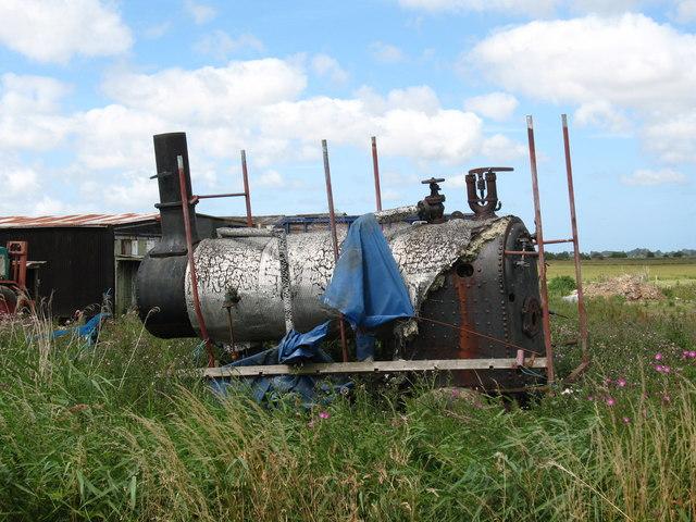 Steam Engine / soil sterilisation boiler