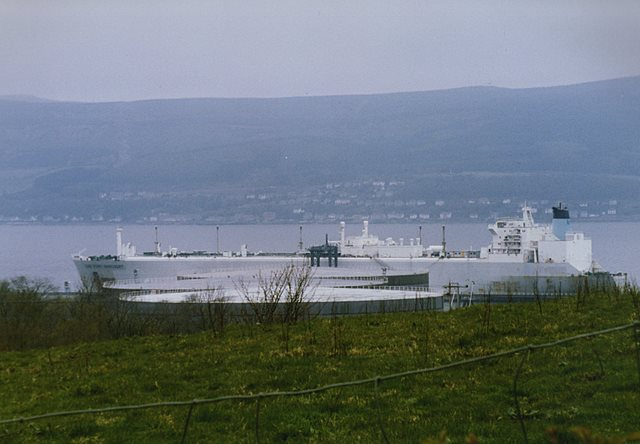 LNG Port Harcourt at Inverkip Power Station jetty