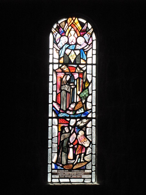 St. John's Church, Healey - stained glass window (2)