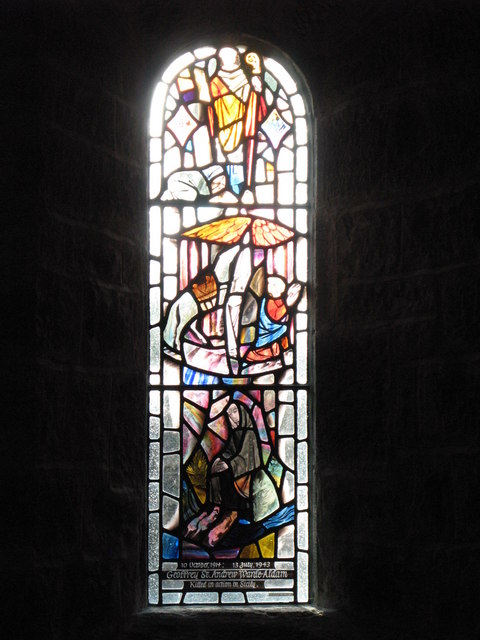 St. John's Church, Healey - stained glass window (3)