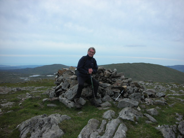 "Donegal. ""Blue Stack Summit"" Taking A Well Earned Rest."