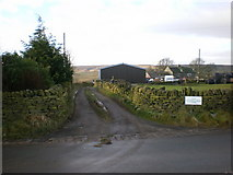 SE0730 : Road to Cockhill Gate Farm by Alexander P Kapp