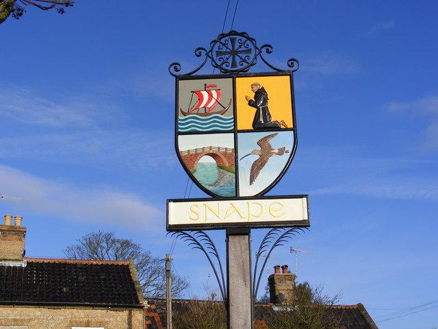 Snape Village Sign