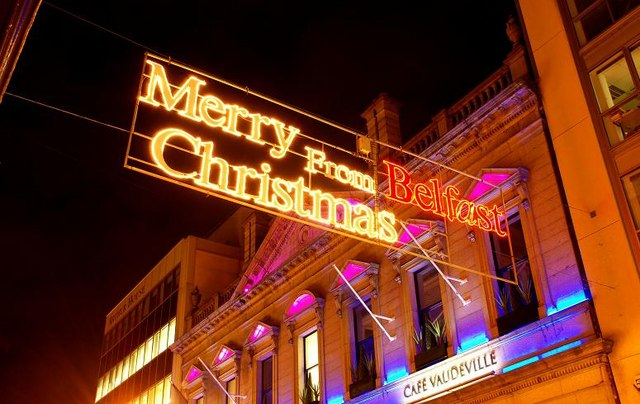 Christmas lights, Belfast (2008)