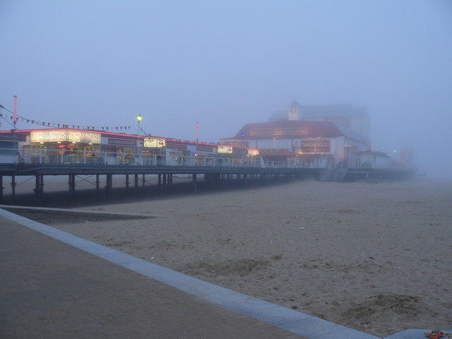 Sea Mist at Great Yarmouth Pier