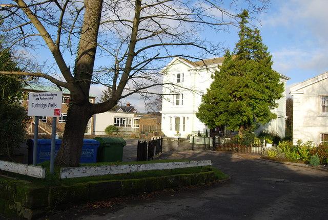 Tunbridge Wells Registry Office by N Chadwick