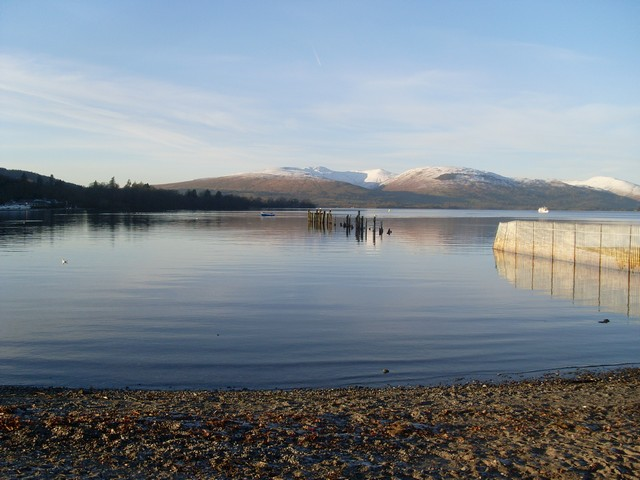 Looking out to Loch Lomond